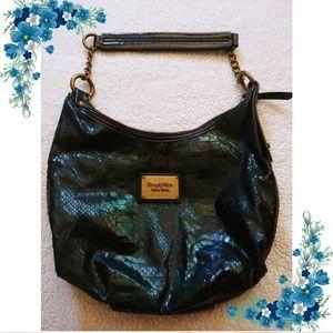 Vera Wang Green Viper bag 🐍